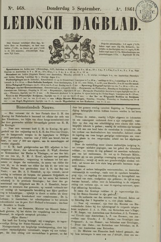 Leidsch Dagblad 1861-09-05