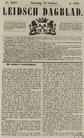 Leidsch Dagblad 1866-10-13