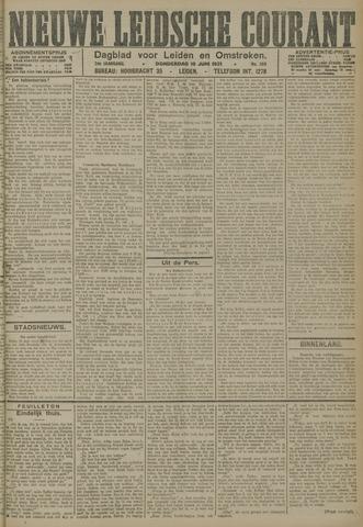 Nieuwe Leidsche Courant 1921-06-16