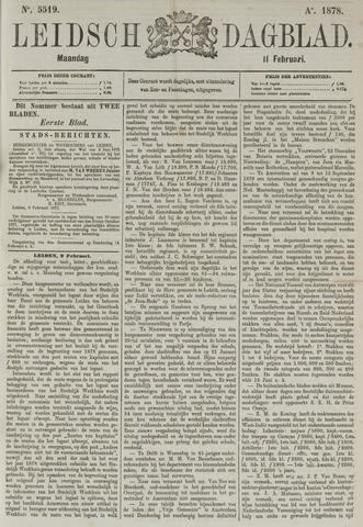 Leidsch Dagblad 1878-02-11