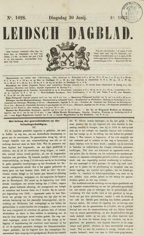 Leidsch Dagblad 1863-06-30