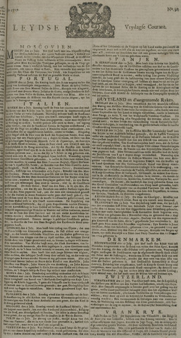 Leydse Courant 1729-07-29