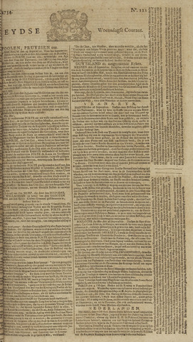 Leydse Courant 1754-10-09