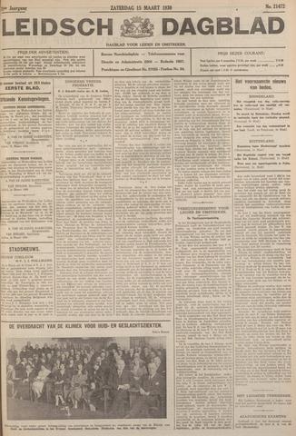 Leidsch Dagblad 1930-03-15