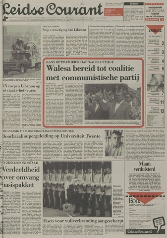 Leidse Courant 1989-08-16