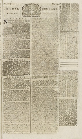 Leydse Courant 1819-11-26