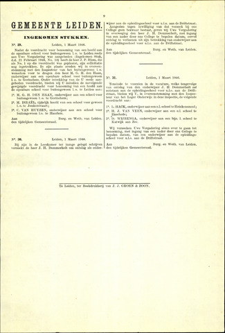 Handelingen van de Raad 1946-03-01