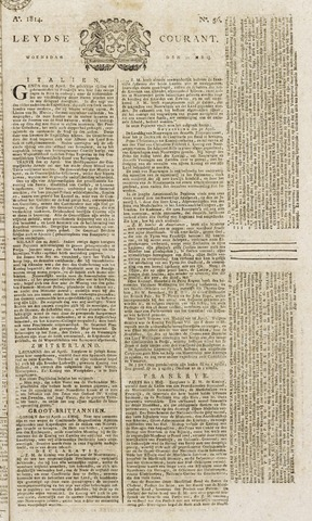 Leydse Courant 1814-05-11