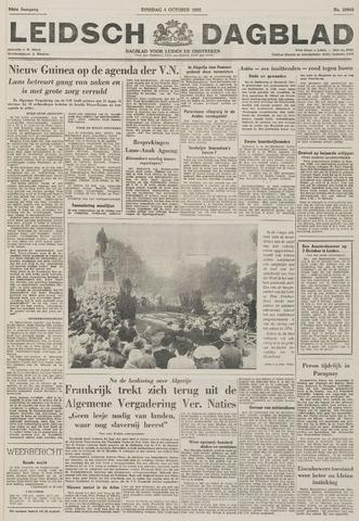 Leidsch Dagblad 1955-10-04