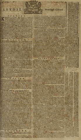 Leydse Courant 1751-01-18