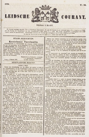 Leydse Courant 1876-03-03
