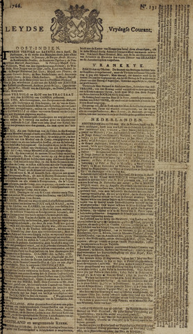 Leydse Courant 1766-10-31