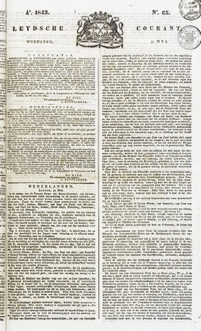 Leydse Courant 1843-05-31