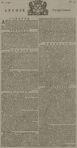 Leydse Courant 1740-01-22