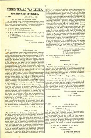 Handelingen van de Raad 1928-06-19