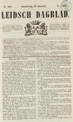 Leidsch Dagblad 1863-01-29
