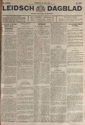 Leidsch Dagblad 1933-07-19
