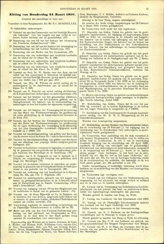 Handelingen van de Raad 1910-03-24