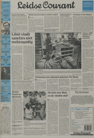 Leidse Courant 1992-04-01