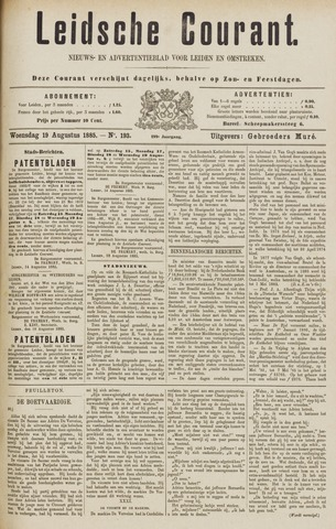 Leydse Courant 1885-08-19
