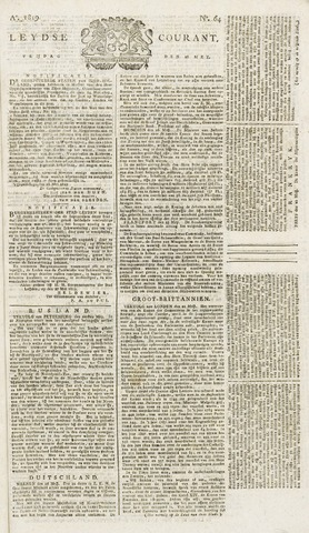 Leydse Courant 1819-05-28