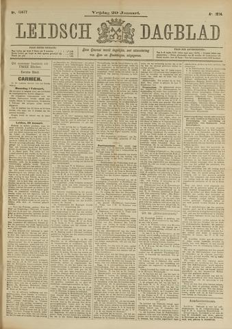 Leidsch Dagblad 1904-01-29