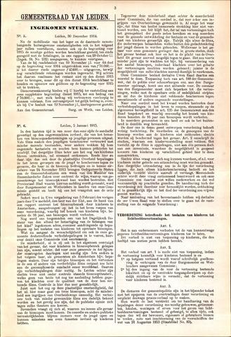 Handelingen van de Raad 1914-12-30