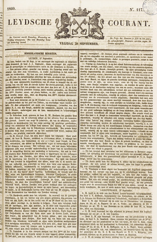 Leydse Courant 1860-09-28