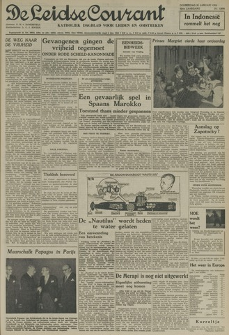 Leidse Courant 1954-01-21