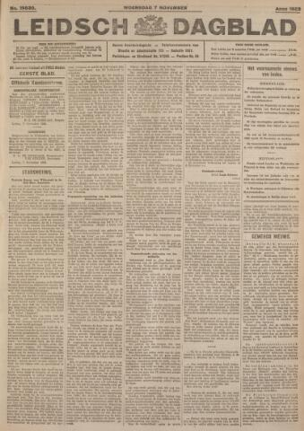 Leidsch Dagblad 1923-11-07