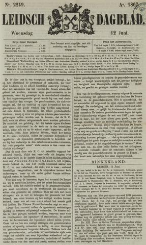 Leidsch Dagblad 1867-06-12