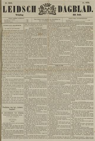 Leidsch Dagblad 1870-07-22