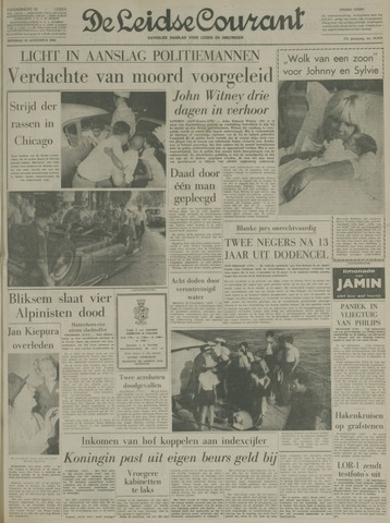 Leidse Courant 1966-08-16