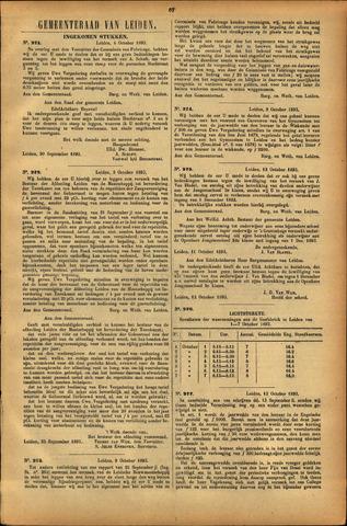 Handelingen van de Raad 1893-10-04