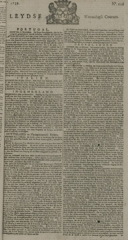 Leydse Courant 1739-10-21