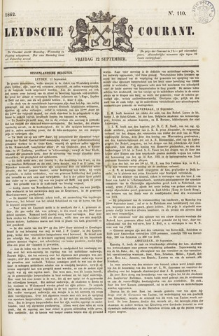 Leydse Courant 1862-09-12