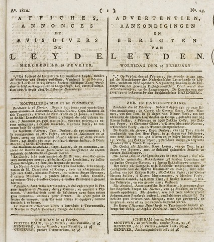 Leydse Courant 1812-02-26