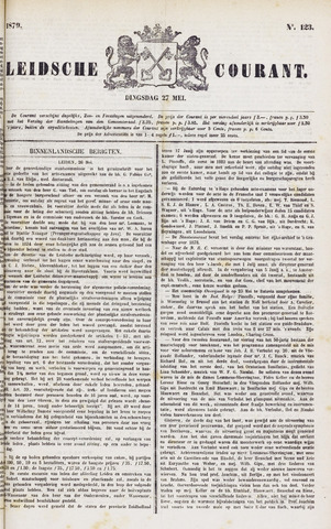 Leydse Courant 1879-05-27