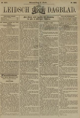 Leidsch Dagblad 1890-07-07