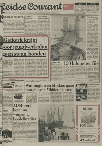 Leidse Courant 1985-01-17
