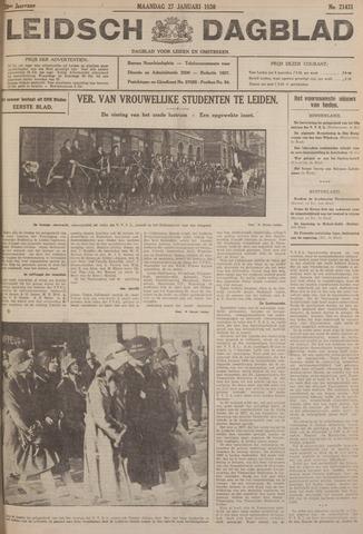 Leidsch Dagblad 1930-01-27