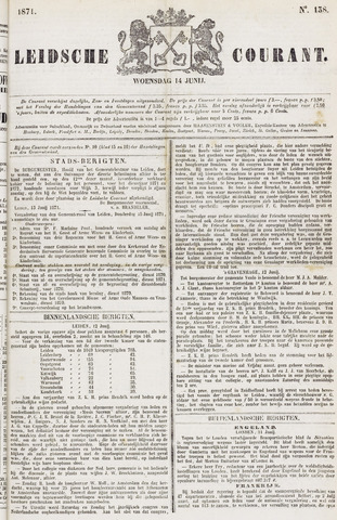 Leydse Courant 1871-06-14