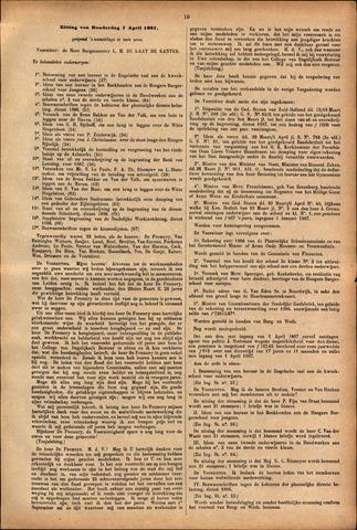 Handelingen van de Raad 1887-04-07