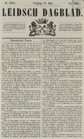 Leidsch Dagblad 1866-05-11