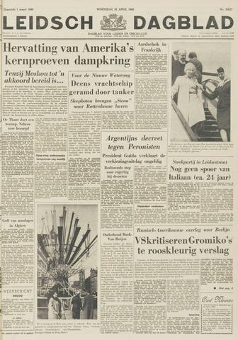 Leidsch Dagblad 1962-04-25