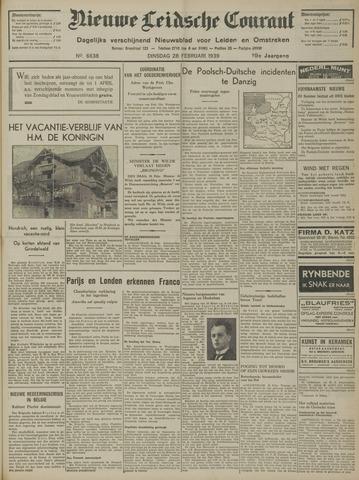 Nieuwe Leidsche Courant 1939-02-28