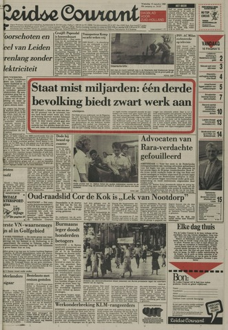 Leidse Courant 1988-08-10