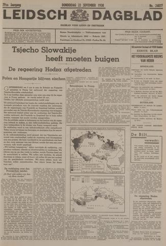 Leidsch Dagblad 1938-09-22