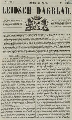 Leidsch Dagblad 1866-04-20