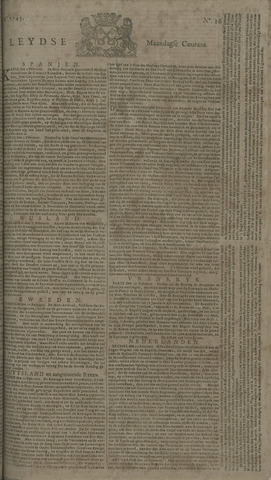 Leydse Courant 1745-03-01